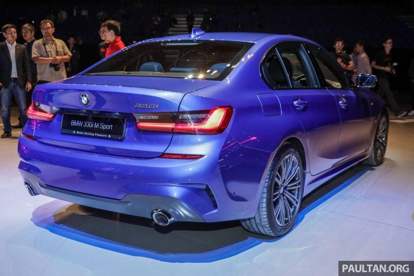 BMW 3 Series G20 dilancarkan di M'sia – 330i M Sport, 2.0L TwinPower, 258 hp/400 Nm, harga RM328,800 Image #940204