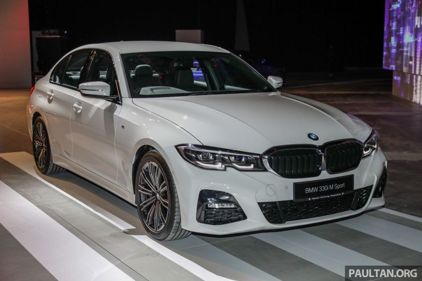 G20 BMW 3 Series launched in Malaysia: 330i, RM329k Image #940058