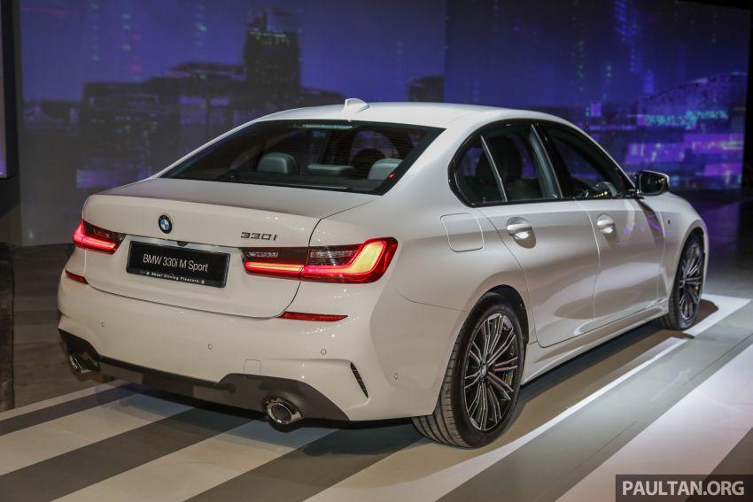 BMW 3 Series G20 dilancarkan di M'sia – 330i M Sport, 2.0L TwinPower, 258 hp/400 Nm, harga RM328,800 Image #940234