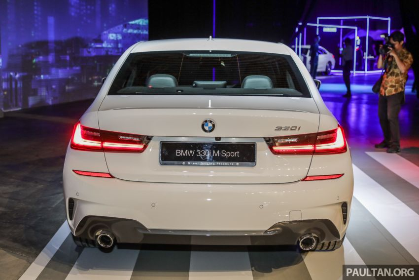 G20 BMW 3 Series launched in Malaysia: 330i, RM329k Image #940062