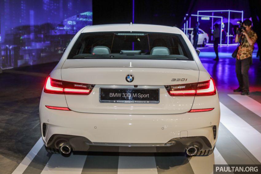 BMW 3 Series G20 dilancarkan di M'sia – 330i M Sport, 2.0L TwinPower, 258 hp/400 Nm, harga RM328,800 Image #940237