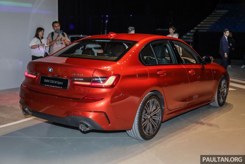 G20 BMW 3 Series launched in Malaysia: 330i, RM329k Image #940064