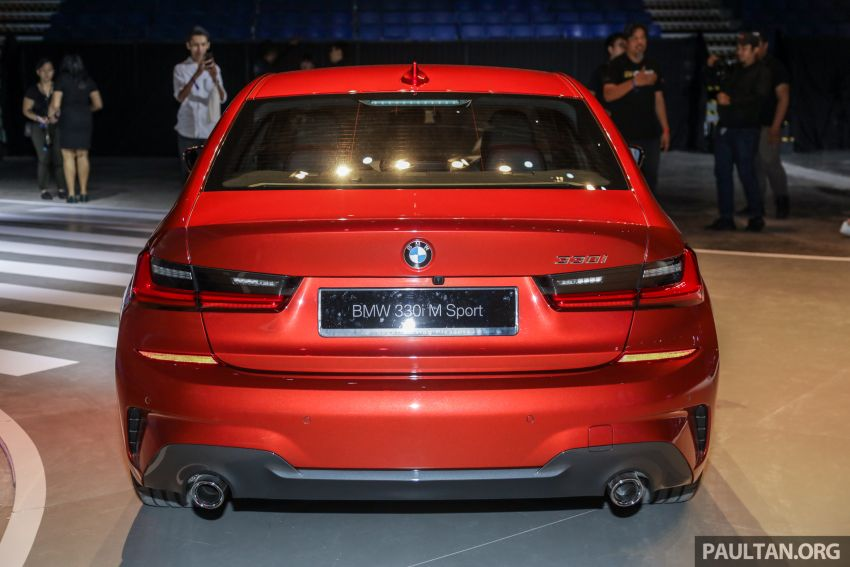 G20 BMW 3 Series launched in Malaysia: 330i, RM329k Image #940067