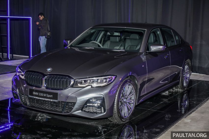 G20 BMW 3 Series launched in Malaysia: 330i, RM329k Image #940316