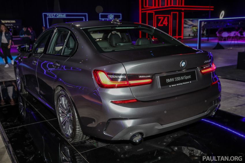 G20 BMW 3 Series launched in Malaysia: 330i, RM329k Image #940317