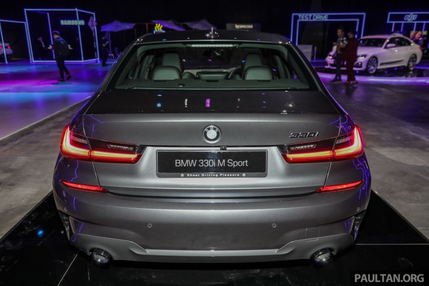 G20 BMW 3 Series launched in Malaysia: 330i, RM329k Image #940320