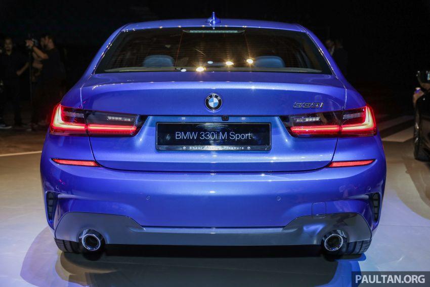 BMW 3 Series G20 dilancarkan di M'sia – 330i M Sport, 2.0L TwinPower, 258 hp/400 Nm, harga RM328,800 Image #940207
