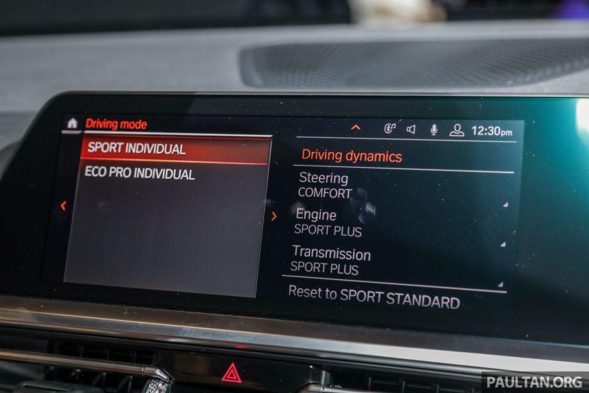 BMW 3 Series G20 dilancarkan di M'sia – 330i M Sport, 2.0L TwinPower, 258 hp/400 Nm, harga RM328,800 Image #940252