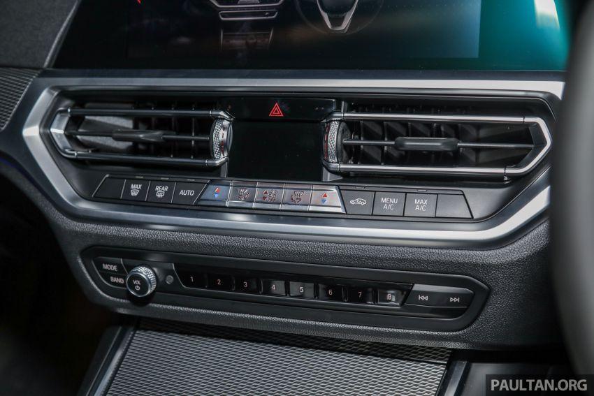 BMW 3 Series G20 dilancarkan di M'sia – 330i M Sport, 2.0L TwinPower, 258 hp/400 Nm, harga RM328,800 Image #940256