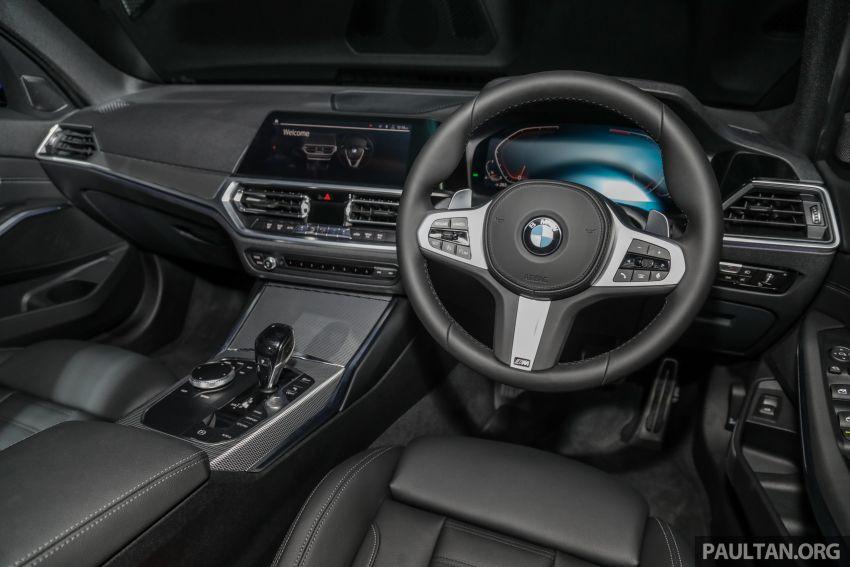 BMW 3 Series G20 dilancarkan di M'sia – 330i M Sport, 2.0L TwinPower, 258 hp/400 Nm, harga RM328,800 Image #940265