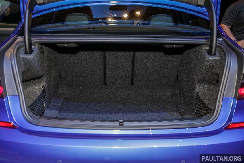 BMW 3 Series G20 dilancarkan di M'sia – 330i M Sport, 2.0L TwinPower, 258 hp/400 Nm, harga RM328,800 Image #940283