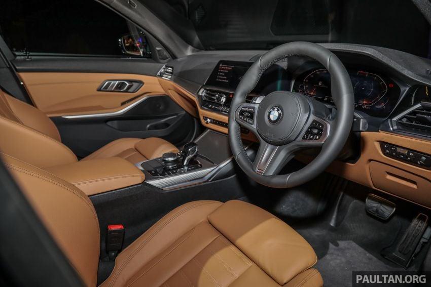 BMW 3 Series G20 dilancarkan di M'sia – 330i M Sport, 2.0L TwinPower, 258 hp/400 Nm, harga RM328,800 Image #940286