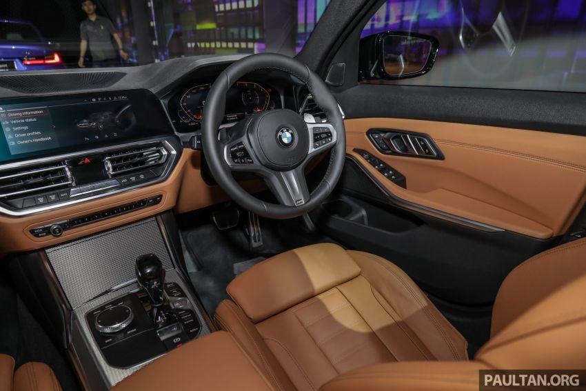 BMW 3 Series G20 dilancarkan di M'sia – 330i M Sport, 2.0L TwinPower, 258 hp/400 Nm, harga RM328,800 Image #940287