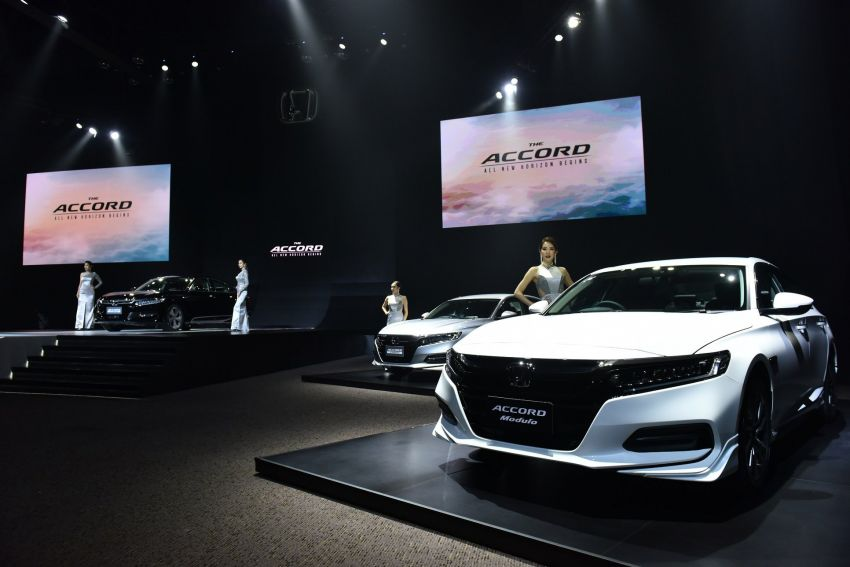 2019 Honda Accord launched in Thailand – 1.5L Turbo and 2.0L Hybrid, priced from RM193k to RM231k Image #936280