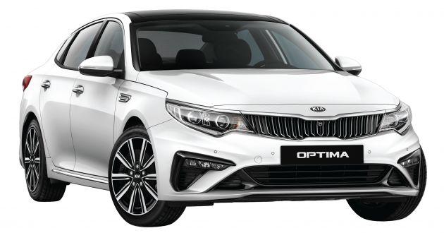 5146b0031582 2019 Kia Optima EX launched in Malaysia – RM139,888
