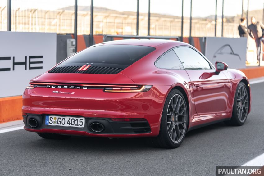 DRIVEN: 992 Porsche 911 Carrera S in Valencia, Spain Image #928732