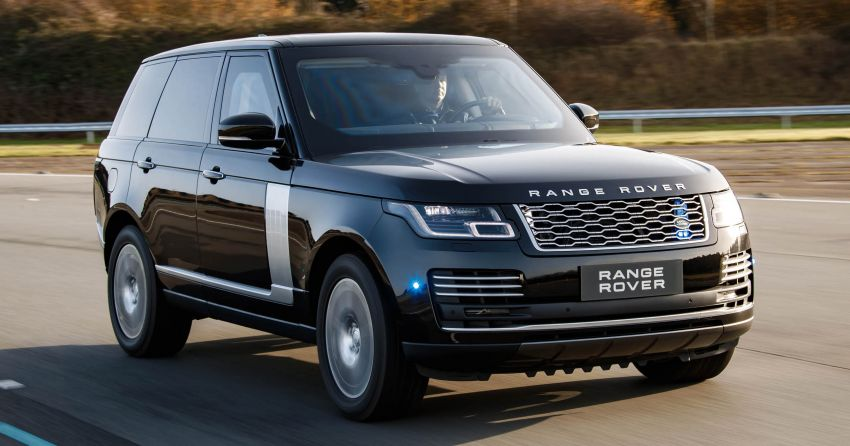 Range Rover Sentinel – your personal mobile fortress Image #935269