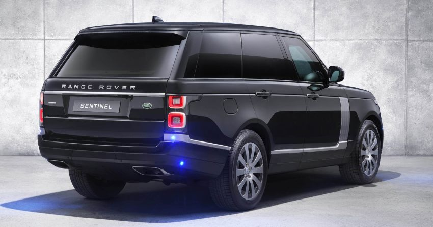 Range Rover Sentinel – your personal mobile fortress Image #935280