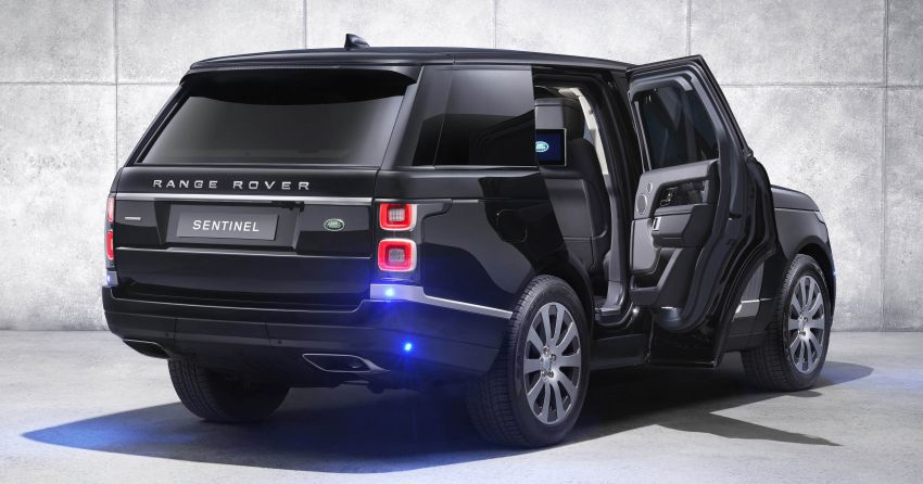 Range Rover Sentinel – your personal mobile fortress Image #935281