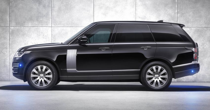 Range Rover Sentinel – your personal mobile fortress Image #935283