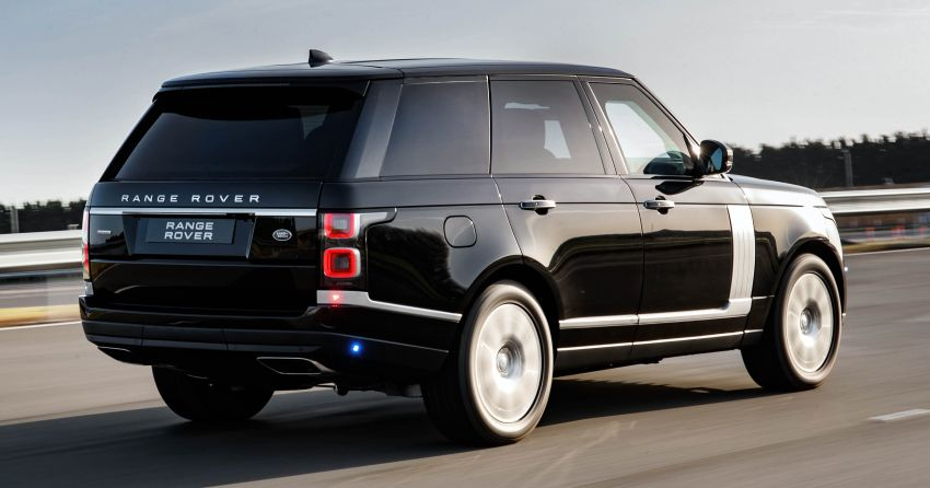 Range Rover Sentinel – your personal mobile fortress Image #935270