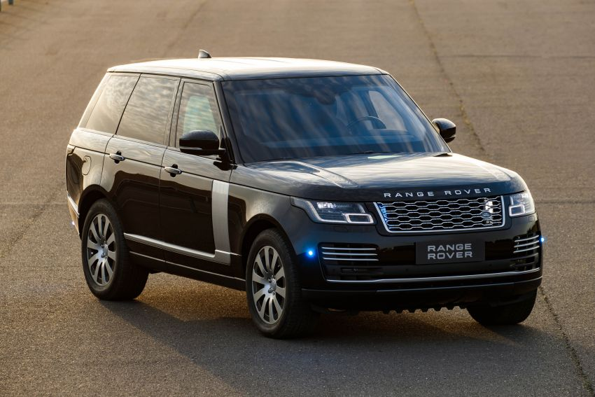 Range Rover Sentinel – your personal mobile fortress Image #935271