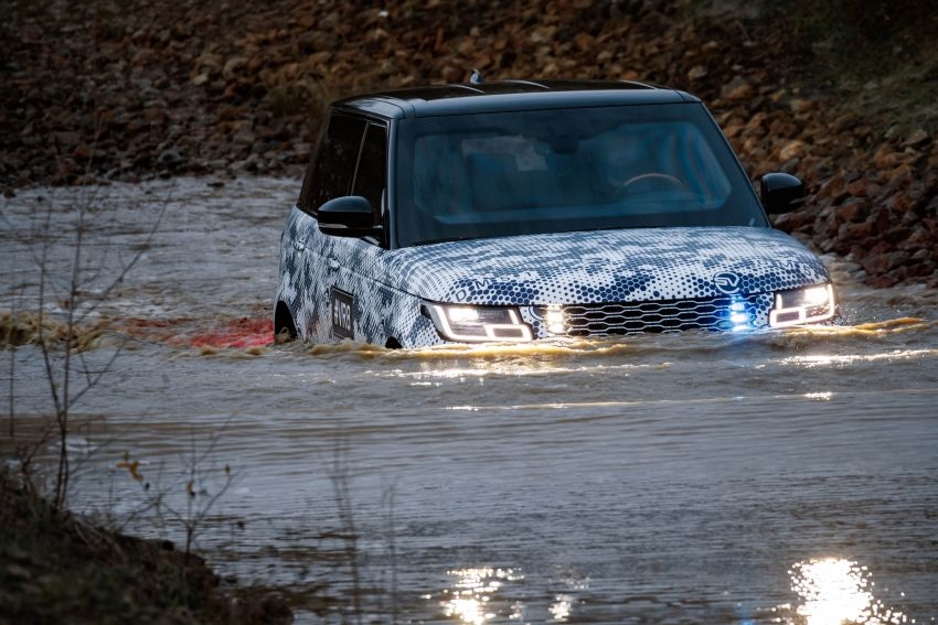 Range Rover Sentinel – your personal mobile fortress Image #935273