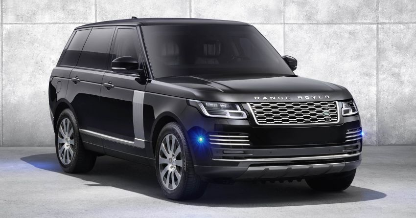 Range Rover Sentinel – your personal mobile fortress Image #935277