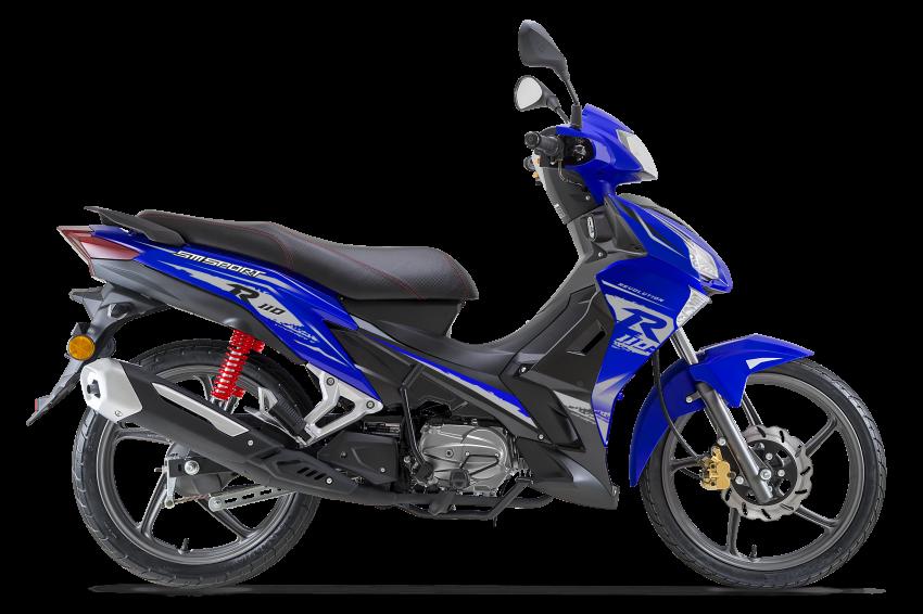 2019 SM Sport 110 gets colour update – RM3,918 Image #931567