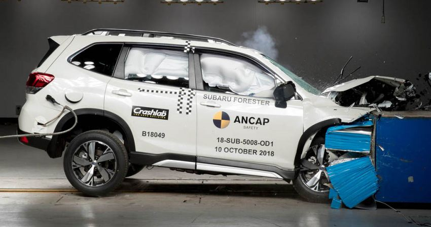 2019 Subaru Forester gets 5-star ANCAP safety rating Image #935006