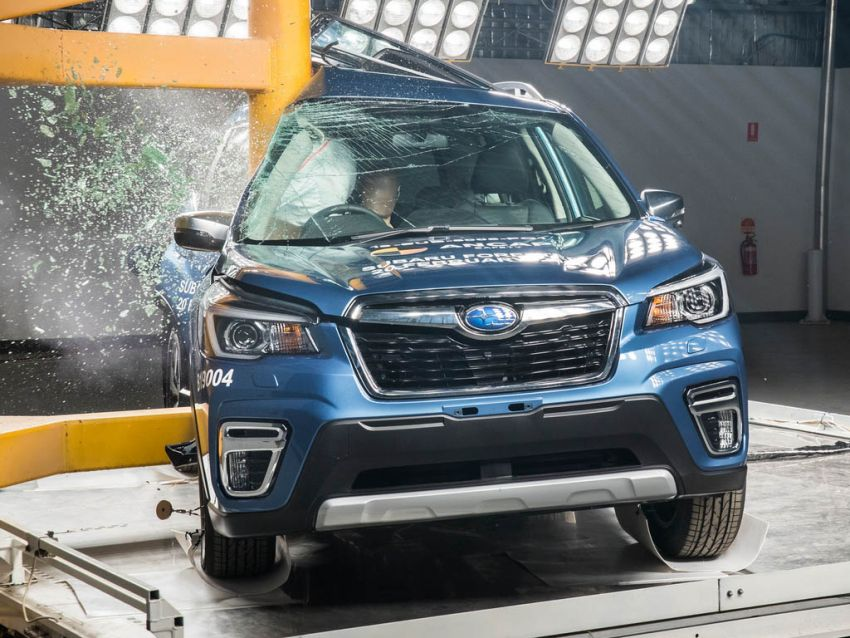 2019 Subaru Forester gets 5-star ANCAP safety rating Image #935008