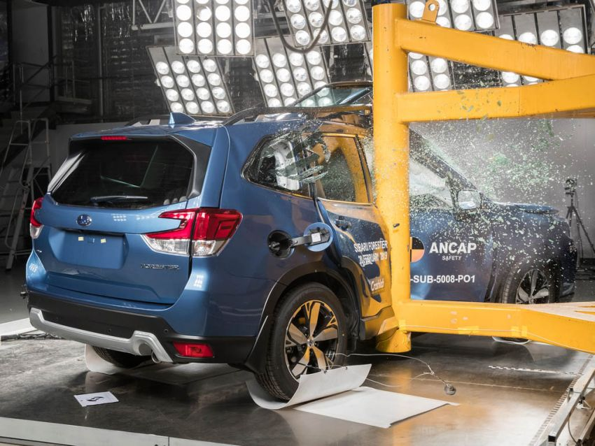 2019 Subaru Forester gets 5-star ANCAP safety rating Image #935009