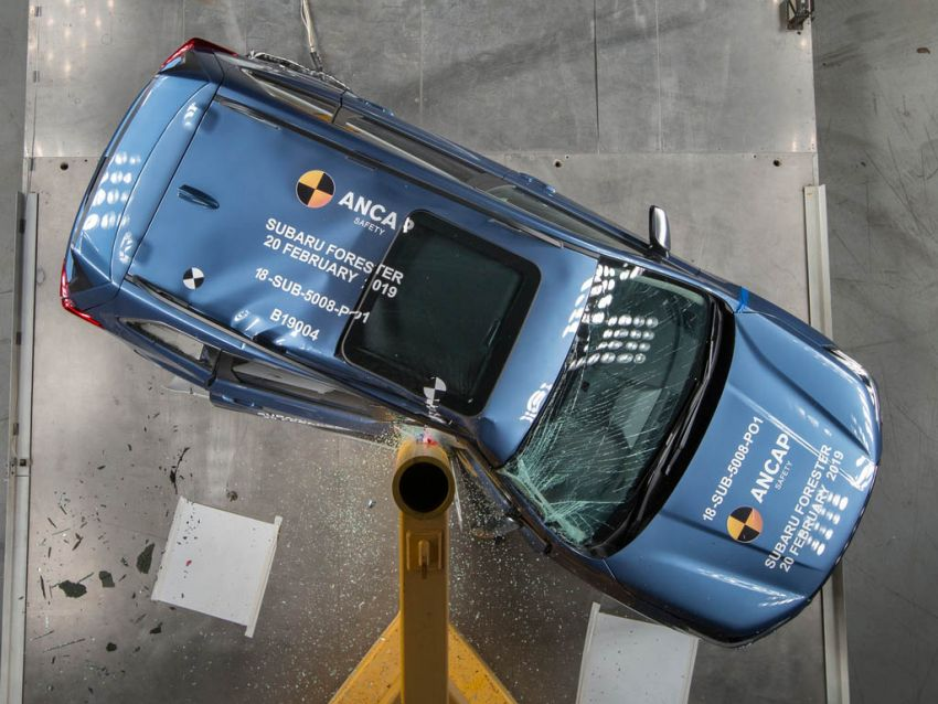 2019 Subaru Forester gets 5-star ANCAP safety rating Image #935010