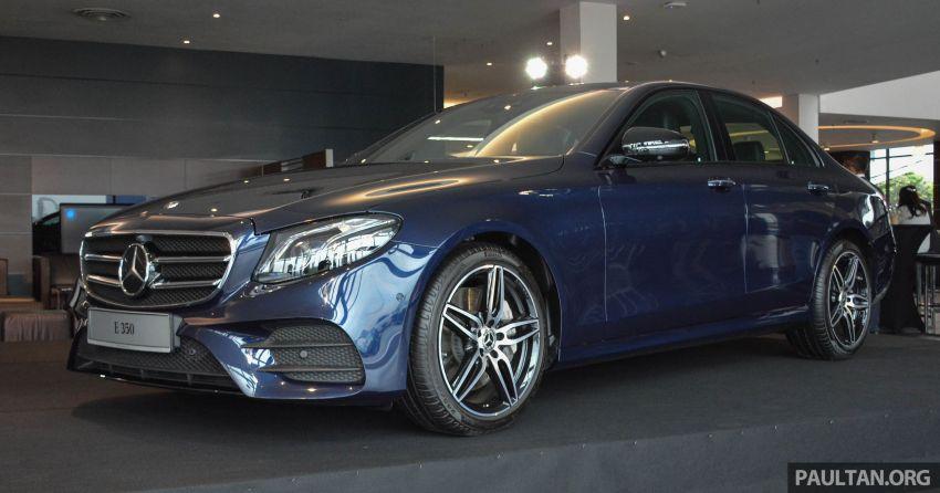 Mercedes-Benz E350 W213 2019 dilancarkan di M'sia – hibrid ringkas 48-volt, 299 hp/400Nm, RM399,888 Image #930247