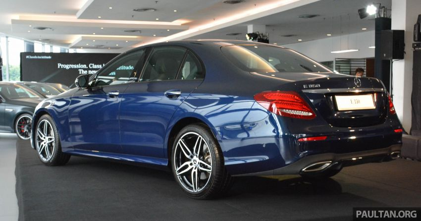 2019 W213 Mercedes-Benz E350 launched in Malaysia – new 48 V M264 engine with EQ Boost, RM399,888 Image #930156