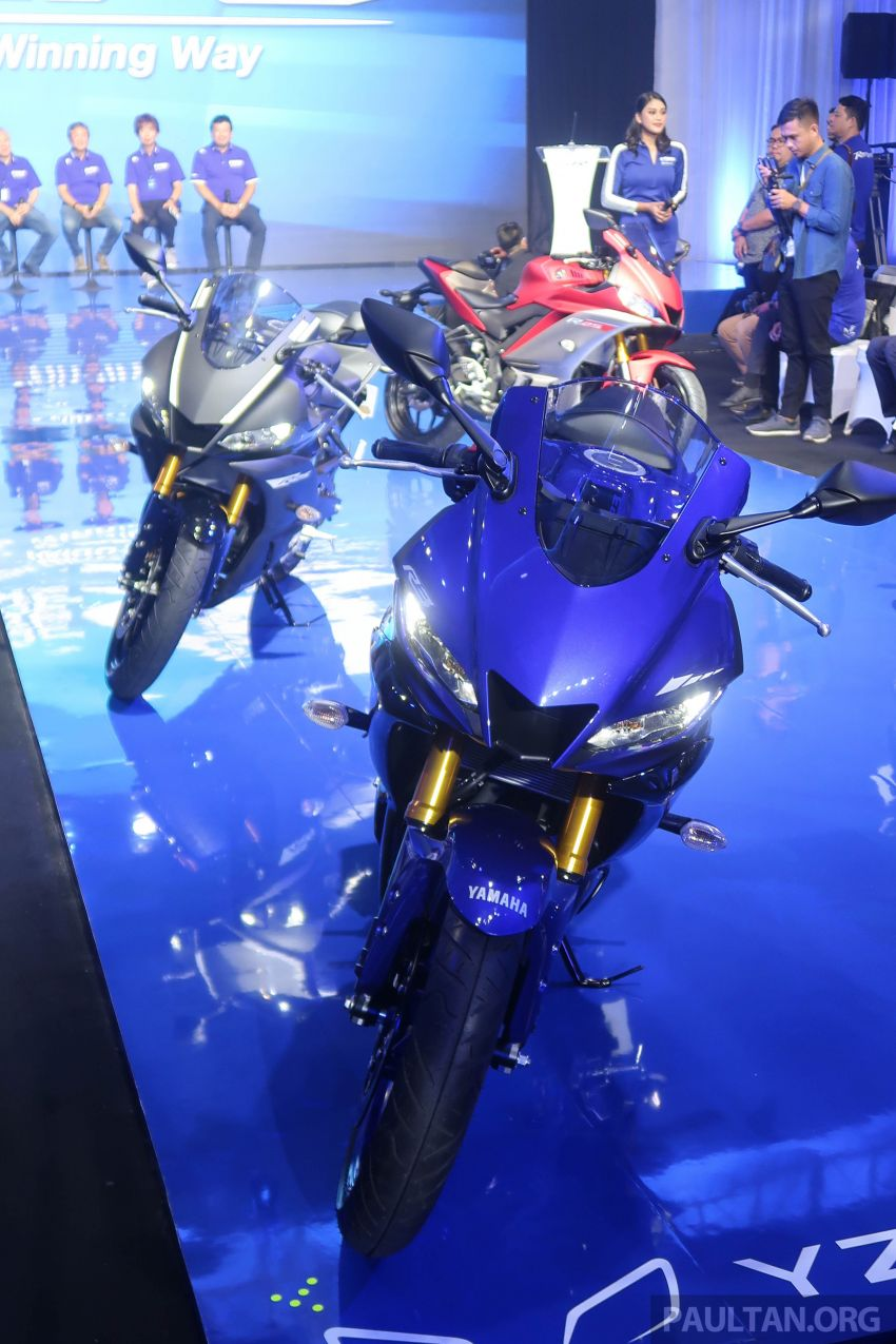 2019 Yamaha YZF-R25 price announced – RM19,998 Image #936492