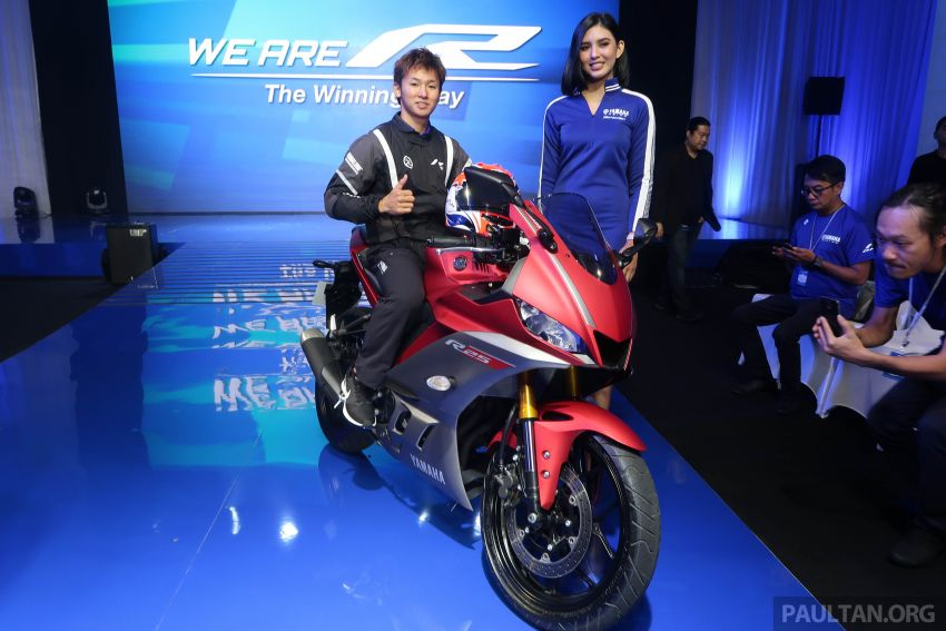 2019 Yamaha YZF-R25 price announced – RM19,998 Image #936460