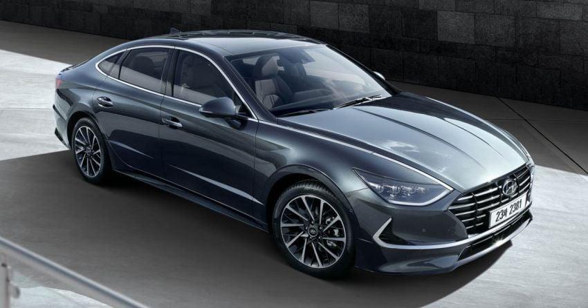 Hyundai Sonata generasi baharu kini didedahkan – sedan segmen-D dengan gaya coupe empat-pintu Image #930702