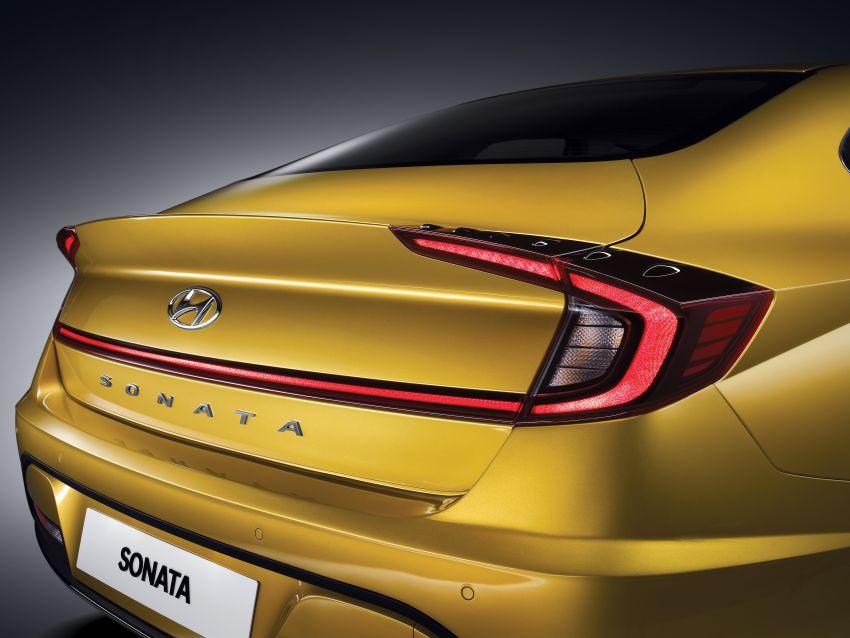 Hyundai Sonata generasi baharu kini didedahkan – sedan segmen-D dengan gaya coupe empat-pintu Image #930699