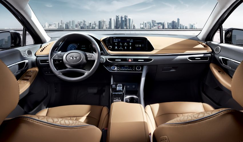 2020 Hyundai Sonata revealed with coupe-like styling Image #930590