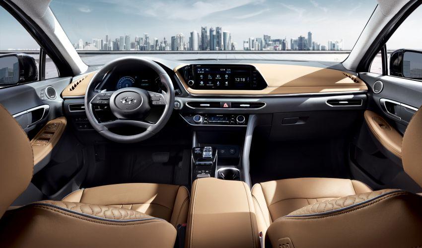 Hyundai Sonata generasi baharu kini didedahkan – sedan segmen-D dengan gaya coupe empat-pintu Image #930698