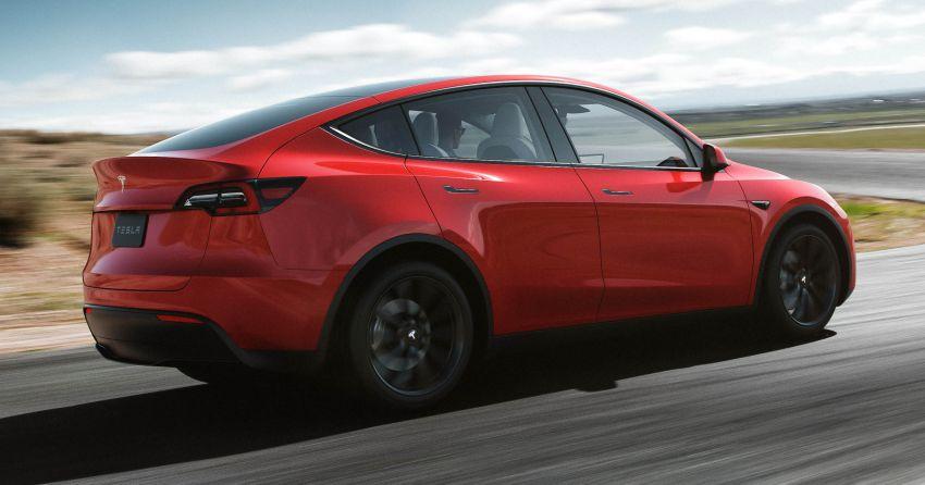 Tesla Model Y didedah – SUV elektrik penuh dengan pilihan tujuh tempat duduk, jarak gerak 483 km Image #935286