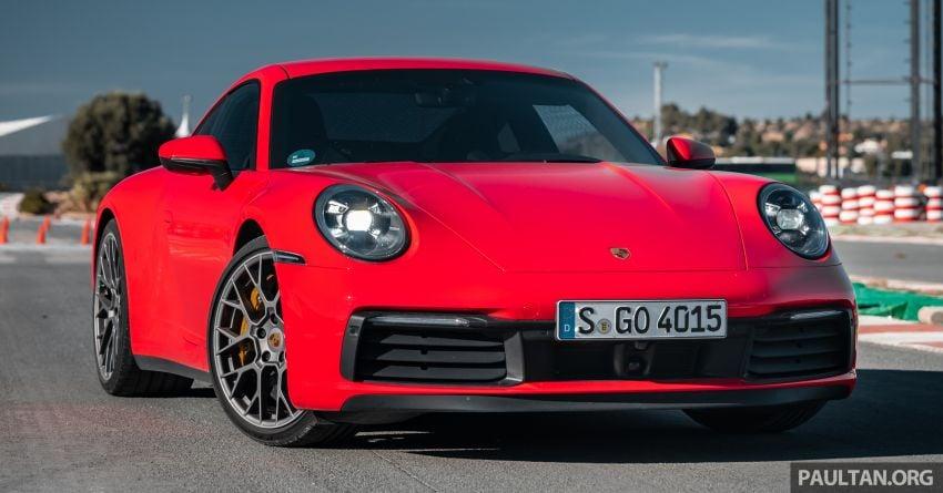 DRIVEN: 992 Porsche 911 Carrera S in Valencia, Spain Image #928797