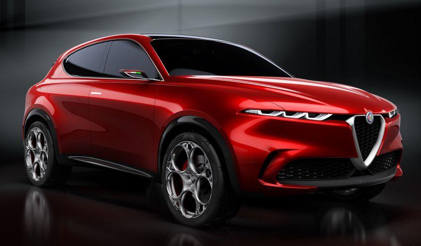 Alfa Romeo Tonale Concept – SUV PHEV gaya Itali Image #930825