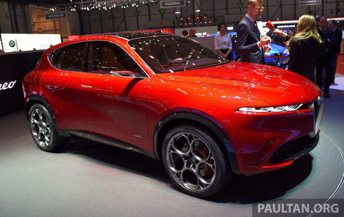 Alfa Romeo Tonale Concept New Midsize Phev Suv