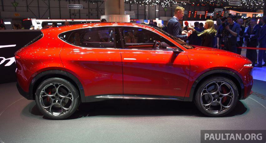 Alfa Romeo Tonale concept – new midsize, PHEV SUV Image #932983