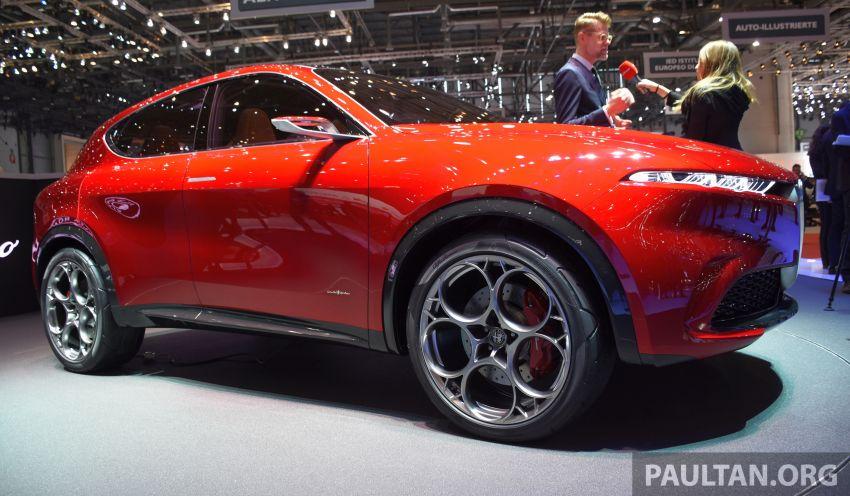Alfa Romeo Tonale concept – new midsize, PHEV SUV Image #932985