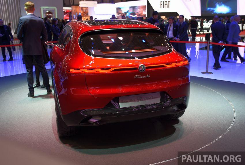Alfa Romeo Tonale concept – new midsize, PHEV SUV Image #932986