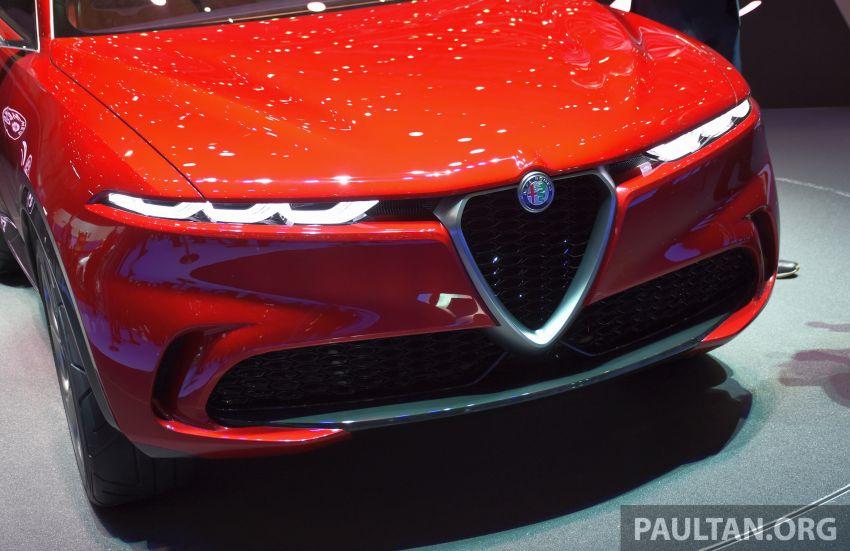 Alfa Romeo Tonale concept – new midsize, PHEV SUV Image #932987