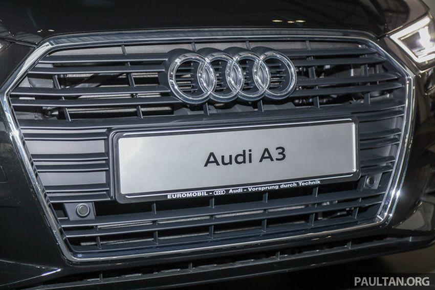 Audi A3 Sedan facelift in M'sia – 1.4 TFSI from RM240k Image #938303